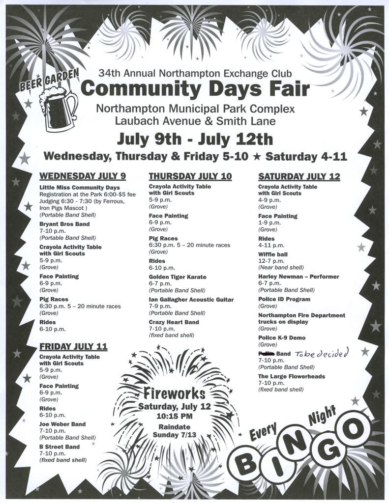Community Days ad