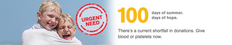 Visit http://www.redcrossblood.org/ to schedule an appointment today!