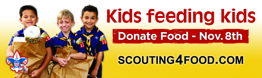 Boy Scouts Scouting For Food Community Food Drive The